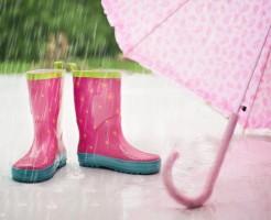 ディズニーランドデート雨の日の服装
