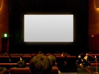 映画館混雑