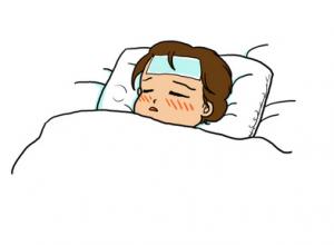子供 インフルエンザ 熱 下げ方