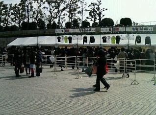 大阪城ホールグッズ販売場所