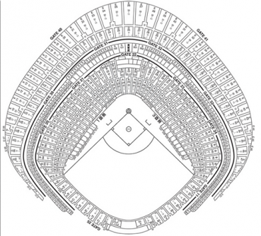 東京ドーム座席表番号