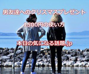 男友達へのクリスマスプレゼント1500円使い方