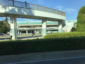イクスピアリ通過後に舞浜駅前ロータリー