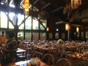 ポリネシアンレストラン席全体像