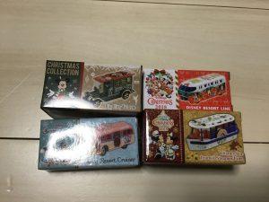 ディズニークリスマス限定トミカ2018