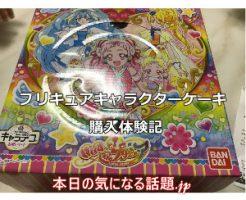 プリキュアキャラクターケーキ(クリスマスアレルギー対応)