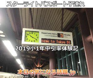 スターライトパスポート子連れ小1年中体験記2019